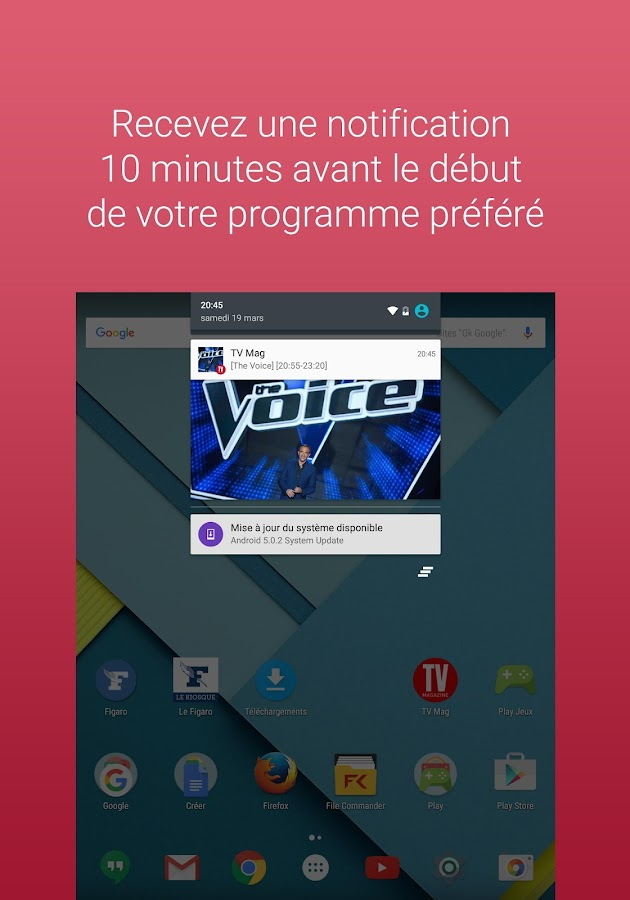 TV Magazine : Programme TV – Capture d'écran