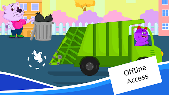 Garbage Truck Games for Kids - Free and Offline - Apps on ...