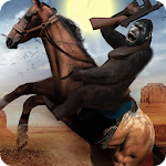 Apes Age Vs Wild West Cowboy: Survival Game Icon