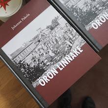 Photo: Johanna Pakolan Örö-kirjaa kannattaa vähintään selata. Ravintolassa on lukukappale. Omakseen kirjan voi ostaa 35 eurolla.