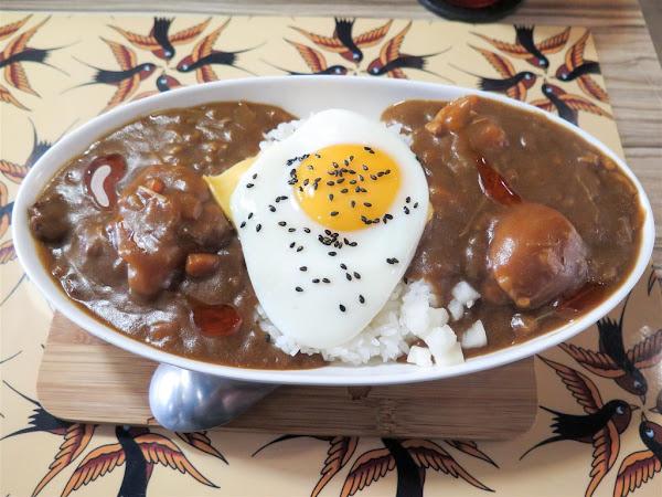 佐藤咖哩 Sato Curry 和平店 -- 正統日式咖哩專賣小店,濃郁香辣很夠味。
