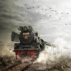 spoor by Budi Cc-line - Transportation Trains ( indonesia )
