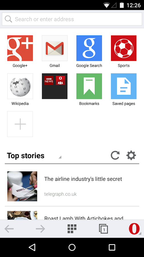 Opera Mini beta web browser - Android Apps on Google Play