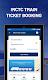 screenshot of IRCTC Tickets, Train Status & PNR Rail enquiry