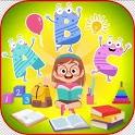 Kids Preschool learning icon