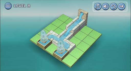 Flow Water Fountain 3D Puzzle Screenshots 16