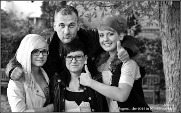 Photo: Jugendliche 2013 in Norddeutschland
