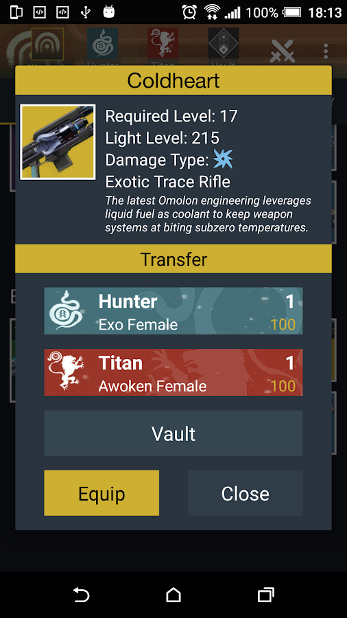 Download Vault Item Manager for Destiny 2 and 1 2.0.706 ...