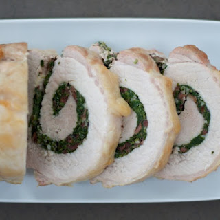 Greek Pork Loin Roulade Recipe