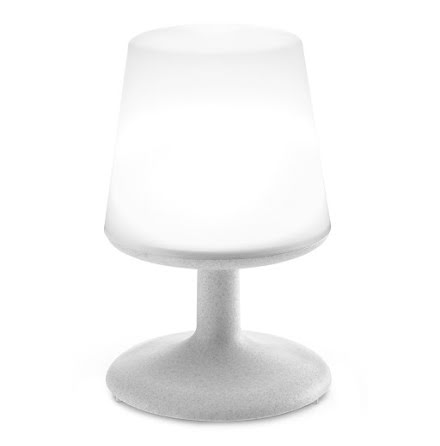 LIGHT TO GO, LED Lampa, Organic grå