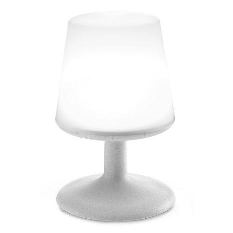 LIGHT TO GO, LED Lampa, Organic grå