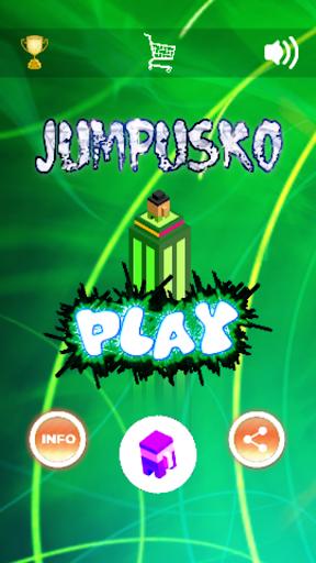 Code Triche Jumpusko - Tower Jumping Game apk mod screenshots 1
