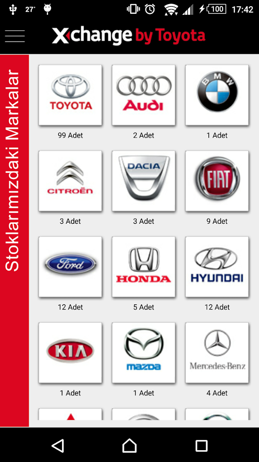 Xchange by Toyota- screenshot