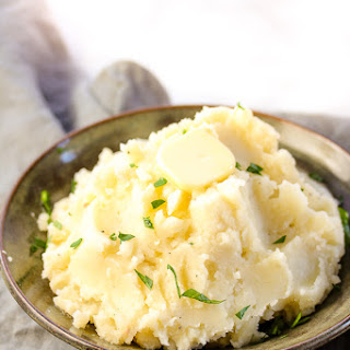Ultimate Roasted Garlic Mashed Potatoes.