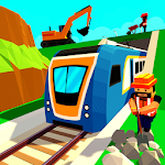 City Subway Build & Ride: Railway Craft Train Game Icon