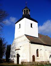 Photo: Dorfkirche in Röckwitz (Feldsteinsockel aus dem 13. Jht)