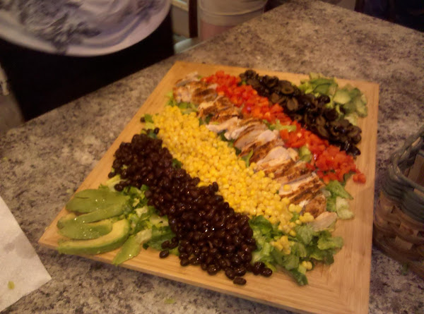 Southwest Grilled Chicken Salad Recipe