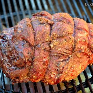 Porcini Dusted Beef Sirloin Roast Recipe