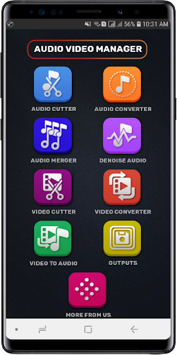 MP3, MP4 Audio Video Cutter, Converter, Compressor 0.2.0 screenshots 2