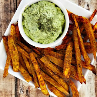Lectin-Free Vegan Spicy Turmeric Oven-Baked Sweet Potato Fries Recipe