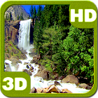 Nice Tall Cascade Waterfall 3D icon
