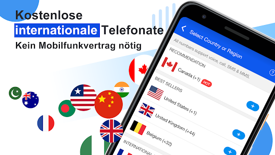 Dingtone–WLAN-Telefonate & SMS Screenshot