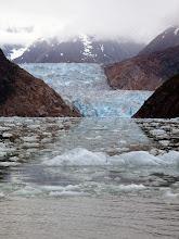 Photo: South Sawyer Glacier in Tracy Arm
