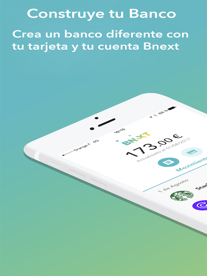 Bnext - El primer Neobanco español- screenshot