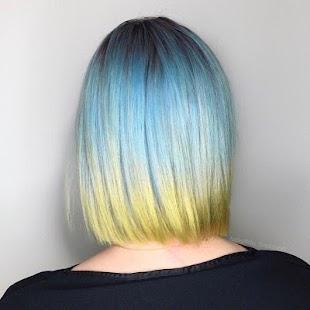 Saç Rengi Fikirleri Ekran Görüntüsü