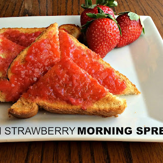 Fresh Strawberry Morning Spread