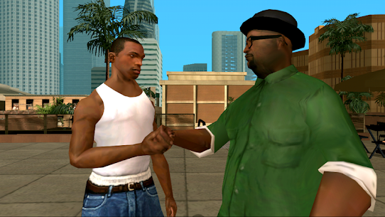 GTA San Andreas v2.00 Apk + (Mod, Unlimited Money) 1