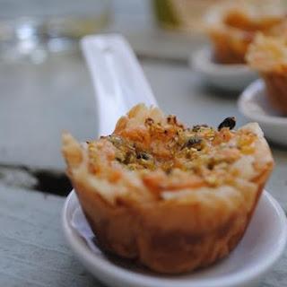 Mini Zucchini Pastry Cups