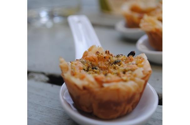 Mini Zucchini Pastry Cups Recipe