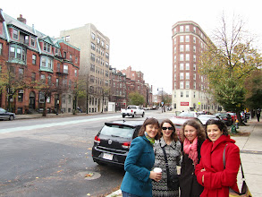 Photo: Alexandra Carlson, Ludmilla Leibman, Yaroslava Serdobolskaya, and Anna Shakina