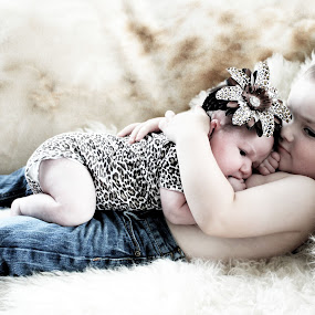 sweet babies by Debra Lynde - Babies & Children Children Candids ( toddler boy, baby girl, cuddle,  )