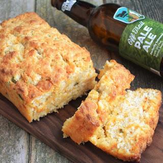 Jalapeno Cheddar Beer Bread