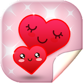 Cute Hearts Live Wallpaper HD