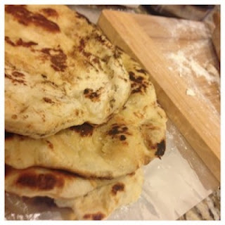 Easy Paleo Naan Bread.