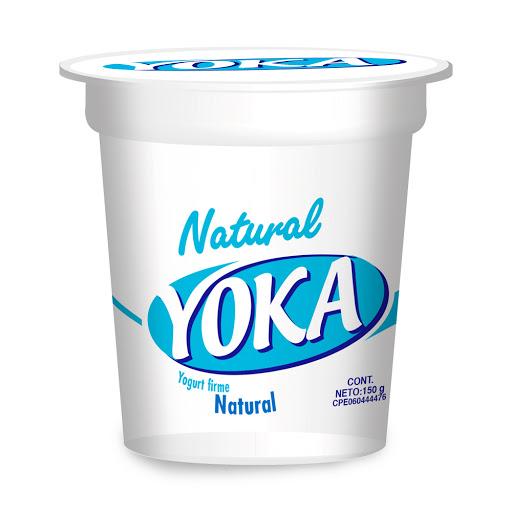 Yogurt Firme Yoka Natural 150Gr