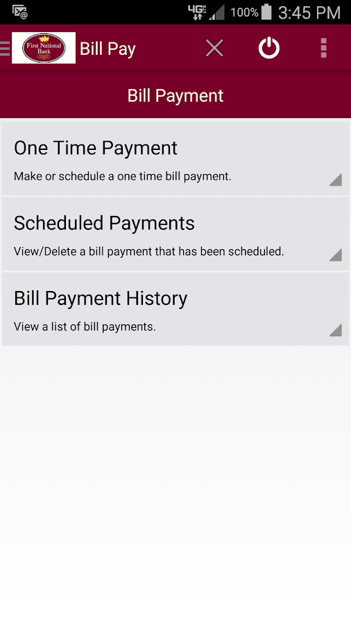 FNB Grayson Mobile Banking- screenshot