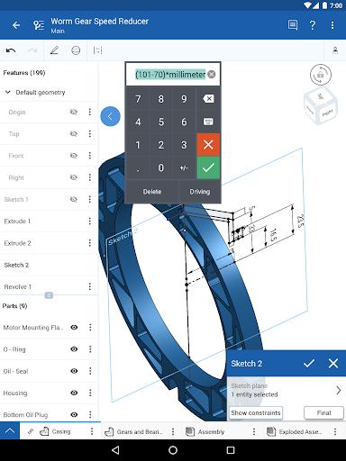 Onshape 3D CAD  screenshots 4