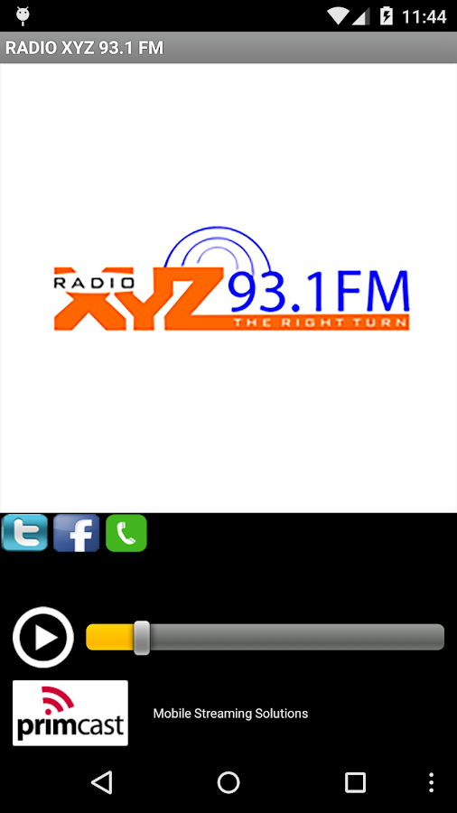 RADIO XYZ 93.1 FM- screenshot