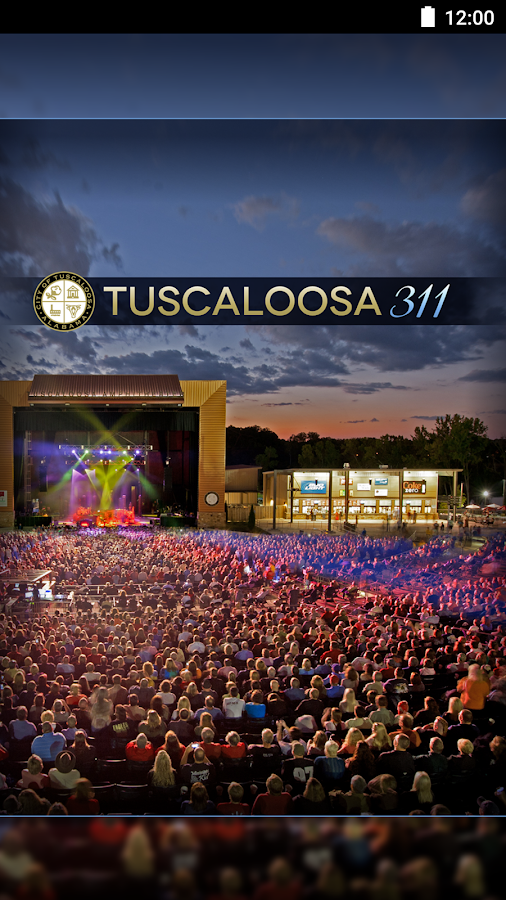 Tuscaloosa311- screenshot
