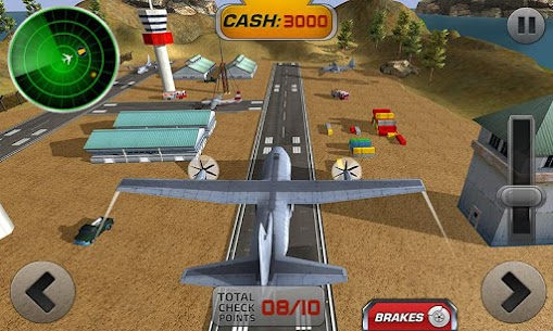Fly Airplane 3D: Plane Flight Simulator 2017 1.0.5 Android Mod + APK + Data 1