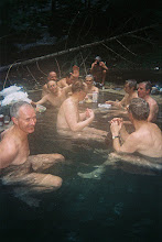 Photo: In the hot spring