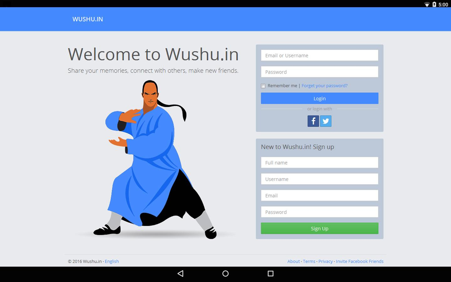 Wushu- screenshot