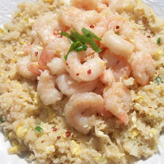 "Shrimp or Chicken Fried ""Rice"" Recipe"