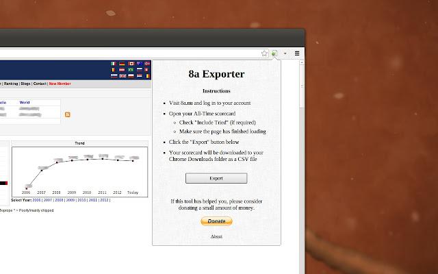 8a Exporter