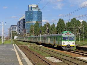 Photo: EN57-1920 & EN57-1717 (KM), Warszawa Wschodnia - Radom {Warszawa Zachodnia; 2014-07-13}