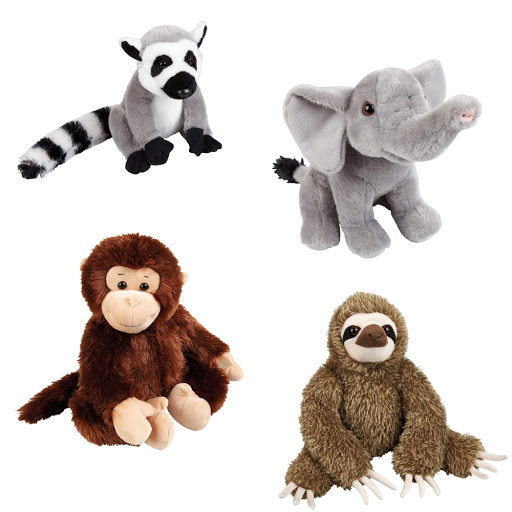 Soft Cuddly Wild Animals